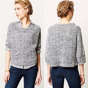 Marled Swing Sweater by Moth